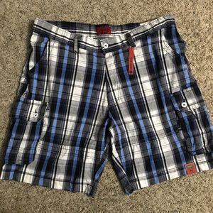 Foundry NWT Plaid Flex Cargo Shorts - Waist 44